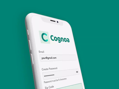 Cognoa - Create Account