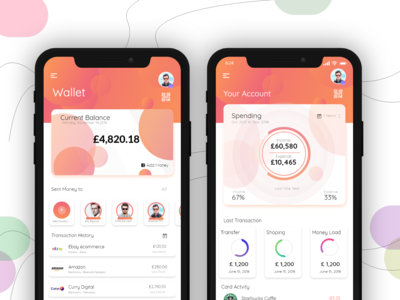 Clean Wallet Application