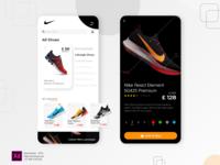 Fashion Shoes App Concept