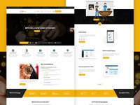 Bit Share - Bitcoin Cryptocurrency PSD Template