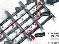 Bar hop map