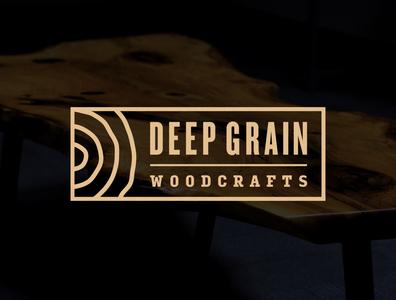 Deep Grain Woodcrafts Logo
