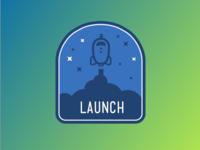 Launch Badge 2x