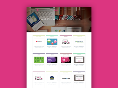 Company Resources Page gallery library collection case study resource