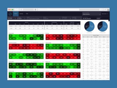 Analytics Dashboard  interface ui dashboard tools trading