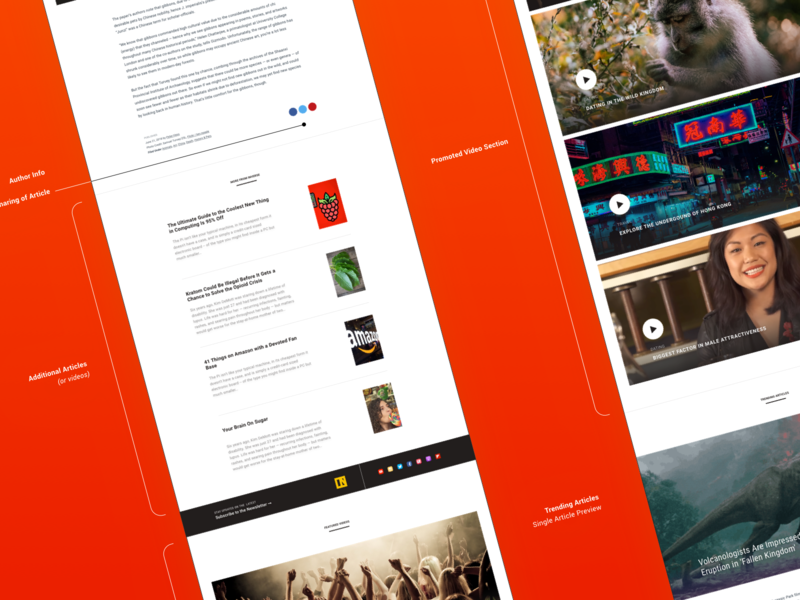 Inverse - Latest news on science, innovation, technology ... suggestions related articles stories video media news ui prototype design ux interface