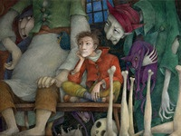 part of illustration for Grimm's fairy tales