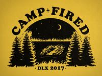Camp Fired tee