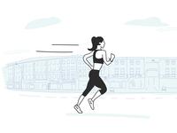 Running thorough Camberwell