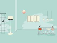 Interiors - the kitchen