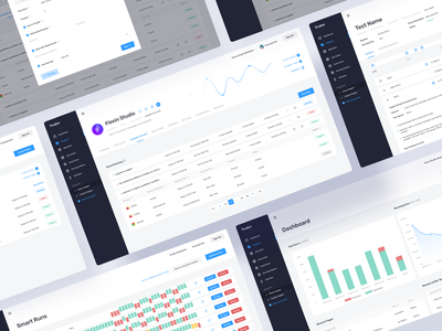 Dashboard for QA Automated tests layout clean ui it solutions dashboard ui web dashboard programming enterprise software enterprise ux enterprise testing quality assurance dashboard design dashboard app dashboard