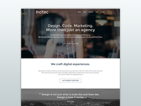 Inotec - Agency One Page Website
