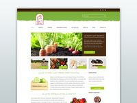 Adams County Farmers Market - Homepage Layout