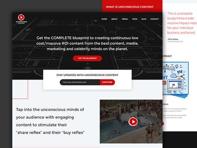 Unconscious Content - Landing Page