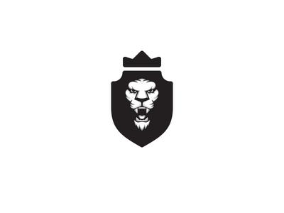 LionRoar Update illustration logo fierce cat animal beast crown shield roar lion