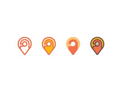 Serviced Apartments symbol location map logo do not disturb door hanger apartment hub pin