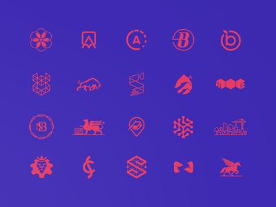 Logofolio vol.04 year/2016 graphic design logo branding portfolio behance symbols marks logofolio