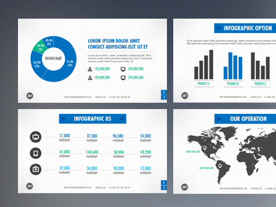 powerpoint by slide deck story dribbble