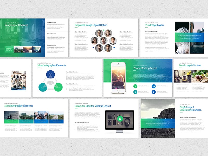 gradient powerpoint presentation by slide deck story dribbble
