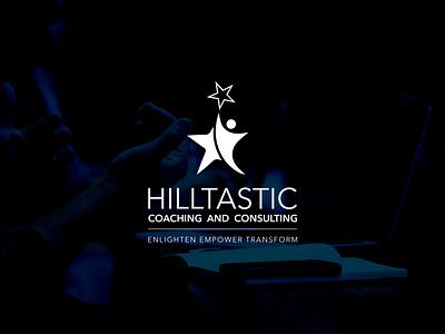 Hilltastic Logo illustrator vector ui minimal logo illustration icon flat design branding