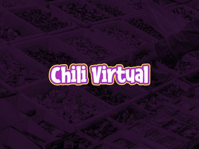 Chili Virtual Logo illustrator vector ui minimal logo illustration icon flat design branding