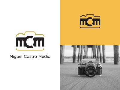 Miguel Castro Media Logo ux vector ui minimal logo illustration icon flat design branding