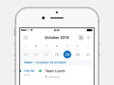 Outlook 2.0 🌅 outlook calendar ios