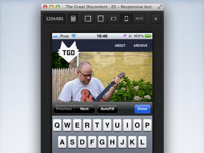 Responsive Bookmarklet: new feature freebie responsive bookmarklet design rwd