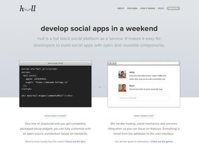 Hull New Homepage