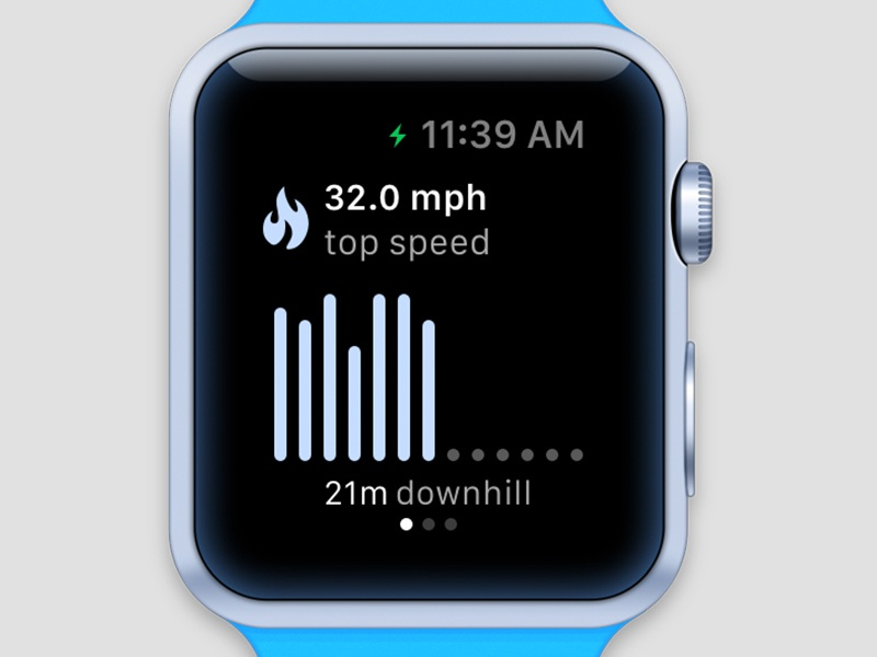 Slopes - Apple Watch watch apple ski snowboard speed fitness sports