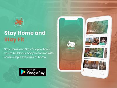 Fitness App illustrator animation flat minimal art web icon typography ux vector branding ui logo illustration design workout fitness app app ui
