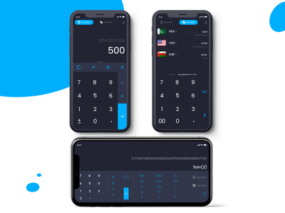 Calculator – Daily UI 004 graphic design branding motion graphics calculator
