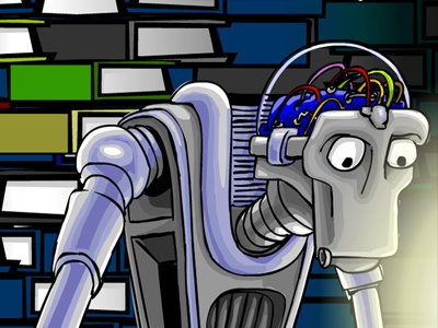 FaqBot robot vector funny cartoon