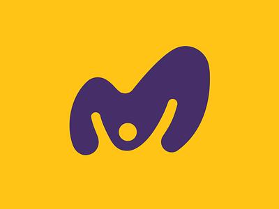 MAKRO Eventos purple brazil yellow design icon dz9 logo brand celebration people happy party