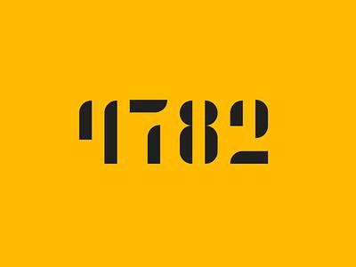 4782 4782 black yellow design icon dz9 logo brand number logo number