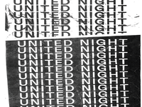 United Night type typography church