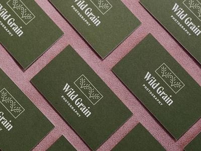 Wild Grain Photography photographer brand identity