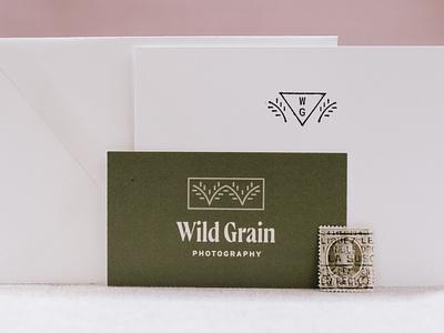 Wild Grain Photography II photographer brand identity