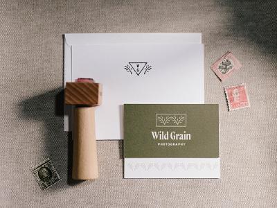 Wild Grain Photography III photographer brand identity