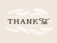 Thank • Full
