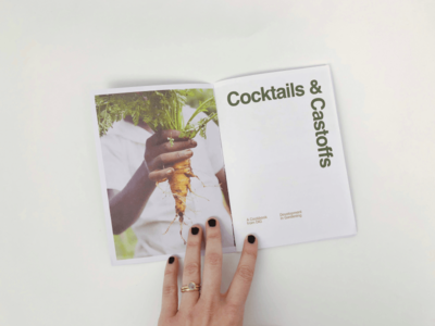 Cocktails & Castoffs Cookzine