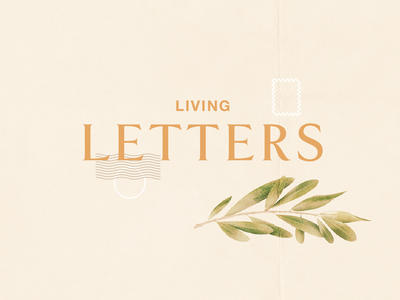 Living Letters gospel letters typography type church
