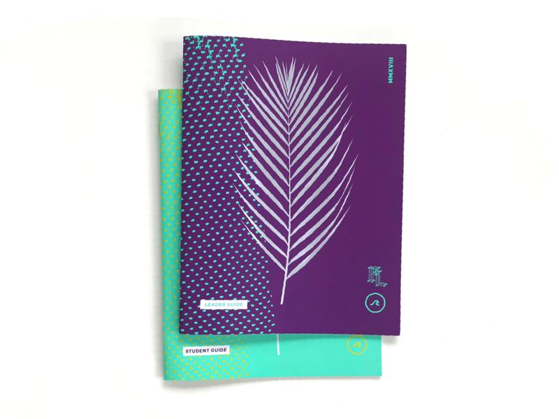 Gauntlet 2018 III metallic book design book typography church