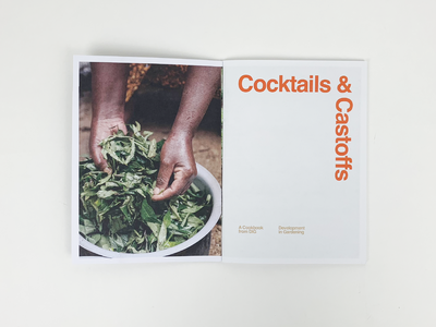 Cocktails & Castoffs Cookzine, Issue 02 atlanta zine cookbook recipes recipe food cocktails book design book