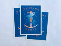 Festina Lente Riso Print