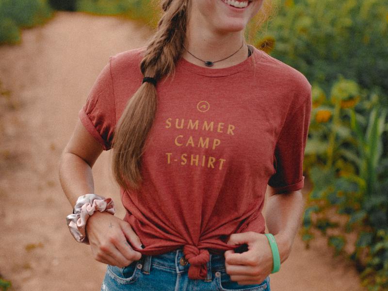 Gauntlet 2019 II typography type tshirt tee apparel camp church