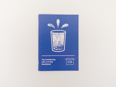 The Overflowing Life book of hours generosity gospel editorial book design book typography church
