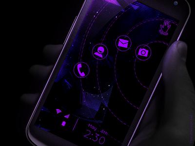Android Launcher android launcher android launcher ui illustration mobile video motion multimedia messor ics ios iphone