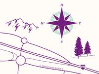 Map of Vail, Colorado