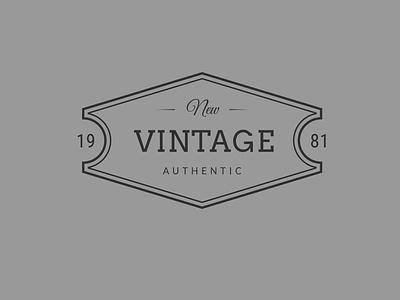 Vintage Logo -01 vector logo illustrator illustration graphic design flat design branding art